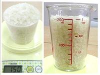 お米の計量